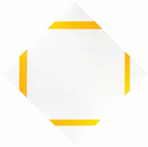 ピート・モンドリアン – 黄色の線のあるコンポジション (ピート・モンドリアン 1872-1944 虚空の楼閣より)のサムネイル画像