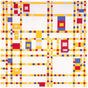 thumbnail Piet Mondrian – Broadway Boogie Woogie [from Mondrian: 1872-1944: Structures in Space]