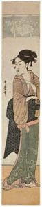 喜多川歌麿 – 難波屋おきた (浮世絵聚花 ボストン美術館3 歌麿より)のサムネイル画像