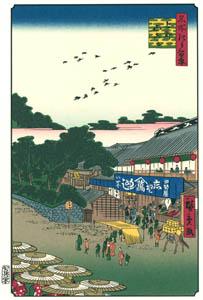 thumbnail Utagawa Hiroshige – Ueno Yamashita [from One Hundred Famous Views of Edo (kurashi-no-techo Edition)]