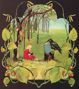 ジビュレ・フォン オルファース – 挿絵4 (森のおひめさまより)のサムネイル画像
