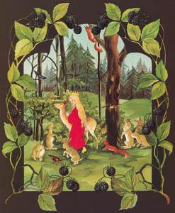 ジビュレ・フォン オルファース – 挿絵5 (森のおひめさまより)のサムネイル画像