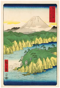 thumbnail Utagawa Hiroshige – Lake at Hakone [from Thirty-six Views of Mount Fuji]