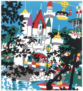 thumbnail Kawanishi Hide – Takarazuka (Family Land) [from One Hundred Scenes of Hyogo]