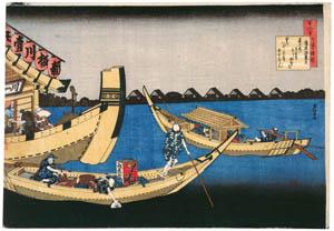 thumbnail Katsushika Hokusai – Poem by Kiyohara no Fukayabu, from the series One Hundred Poems Explained by the Nurse [from Meihin Soroimono Ukiyo-e]