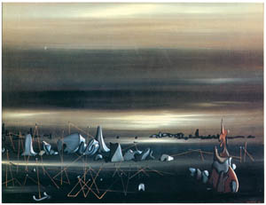 thumbnail Yves Tanguy – Le Rendez-vous des parallèles [from Mizue No.927]
