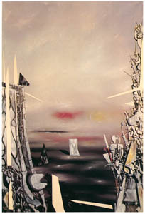 thumbnail Yves Tanguy – La Peur II [from Mizue No.927]