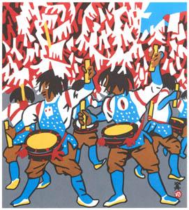 川西英 – ざんざか踊 (兵庫百景IIより)のサムネイル画像