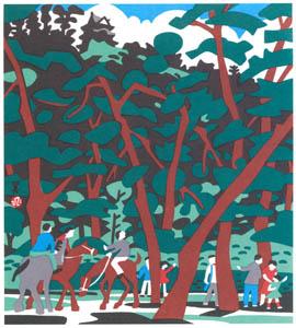 川西英 – 三熊山 (兵庫百景IIより)のサムネイル画像