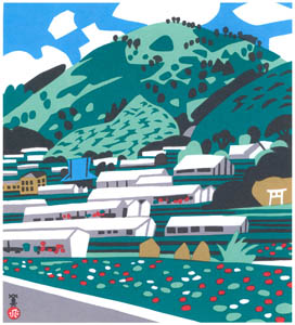 thumbnail Kawanishi Hide – Greenhouse Village in Kamaguchi [from One Hundred Scenes of Hyogo]
