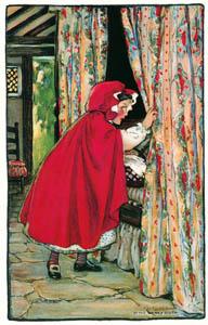 ジェシー・ウィルコックス・スミス – 赤ずきん (ジェシー・ウィルコックス・スミス: アメリカンイラストレーターより)のサムネイル画像
