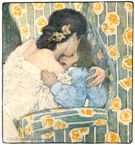 thumbnail Jessie Willcox Smith – Mother (Rhymes of Real Children by Betty Sage) [from Jessie Willcox Smith: American Illustrator]