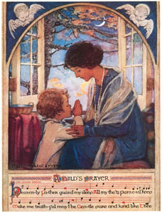 thumbnail Jessie Willcox Smith – A Child's Prayer (A Child's Prayer by Cora Cassard Toogood) [from Jessie Willcox Smith: American Illustrator]