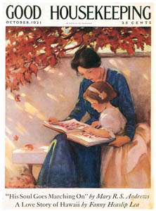 thumbnail Jessie Willcox Smith – Cover of Good Housekeeping (October 1921) [from Jessie Willcox Smith: American Illustrator]