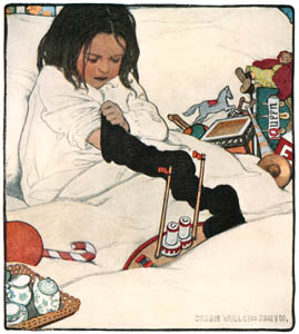 thumbnail Jessie Willcox Smith – Toys (The Book of the Child by Mabel Humphrey) [from Jessie Willcox Smith: American Illustrator]