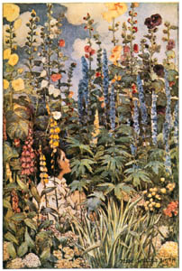 thumbnail Jessie Willcox Smith – The Flowers (A Child's Garden of Verses by Robert Louis Stevenson) [from Jessie Willcox Smith: American Illustrator]