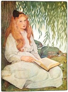 thumbnail Jessie Willcox Smith – The Sixth Age Shifts to lean and slender maidenhood (The Seven Ages of Childhood by Carolyn Wells) [from Jessie Willcox Smith: American Illustrator]