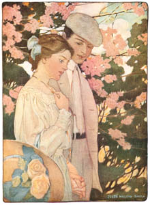thumbnail Jessie Willcox Smith – Last scene of all that ends this strange, eventful history (The Seven Ages of Childhood by Carolyn Wells) [from Jessie Willcox Smith: American Illustrator]