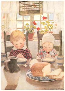 ジェシー・ウィルコックス・スミス – 子供の恵み (ジェシー・ウィルコックス・スミス: アメリカンイラストレーターより)のサムネイル画像
