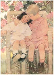 ジェシー・ウィルコックス・スミス – 子供の質問 (ジェシー・ウィルコックス・スミス: アメリカンイラストレーターより)のサムネイル画像