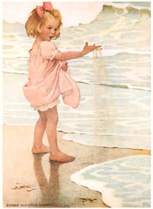 thumbnail Jessie Willcox Smith – Little Drops of Water (A Child's Book of Old Verses) [from Jessie Willcox Smith: American Illustrator]