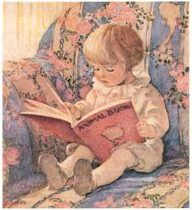 thumbnail Jessie Willcox Smith – The Animal Book (A Very Little Child's Book of Stories by Ada M. and Eleanor L. Skinner) [from Jessie Willcox Smith: American Illustrator]