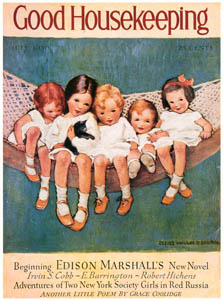 thumbnail Jessie Willcox Smith – Cover of Good Housekeeping (July 1930) [from Jessie Willcox Smith: American Illustrator]