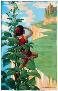 ジェシー・ウィルコックス・スミス – ジャックと豆の木 (ジェシー・ウィルコックス・スミス: アメリカンイラストレーターより)のサムネイル画像