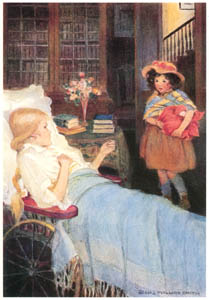 thumbnail Jessie Willcox Smith – I am never called anything but Heidi (Heidi by Johanna Spyri) [from Jessie Willcox Smith: American Illustrator]