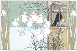 thumbnail Sibylle von Olfers – Plate 1 [from The Story of the Snow Children]