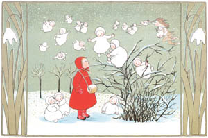 thumbnail Sibylle von Olfers – Plate 2 [from The Story of the Snow Children]