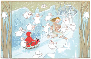 thumbnail Sibylle von Olfers – Plate 3 [from The Story of the Snow Children]