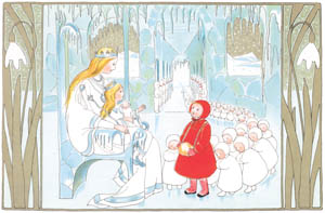 thumbnail Sibylle von Olfers – Plate 4 [from The Story of the Snow Children]