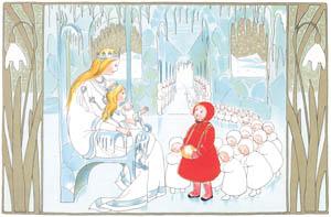 ジビュレ・フォン オルファース – 挿絵4 [ゆきのおしろへより]のサムネイル画像