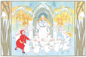 ジビュレ・フォン オルファース – 挿絵7 [ゆきのおしろへより]のサムネイル画像