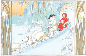 thumbnail Sibylle von Olfers – Plate 9 [from The Story of the Snow Children]