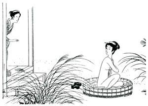 小村雪岱 – おせん 挿絵4 [小村雪岱より]のサムネイル画像