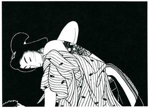 小村雪岱 – お傳地獄 挿絵1 [小村雪岱より]のサムネイル画像