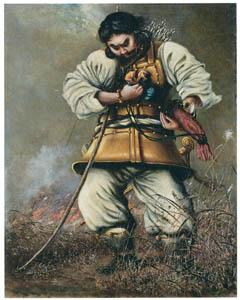 thumbnail Takahashi Yuichi – Japanese Deity Yamato Takeru [from Takahashi Yuichi: Pioneer of Modern Western-style Painting]