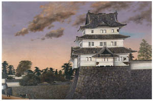 thumbnail Takahashi Yuichi – View of the Former Edo Castle [from Takahashi Yuichi: Pioneer of Modern Western-style Painting]