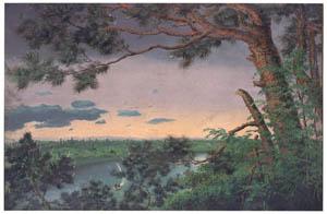 thumbnail Takahashi Yuichi – View from Konodai [from Takahashi Yuichi: Pioneer of Modern Western-style Painting]