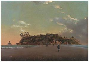 thumbnail Takahashi Yuichi – Enoshima [from Takahashi Yuichi: Pioneer of Modern Western-style Painting]