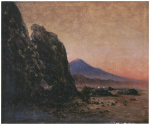 thumbnail Takahashi Yuichi – Mt. Fuji from Tagonoura [from Takahashi Yuichi: Pioneer of Modern Western-style Painting]