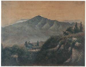 thumbnail Takahashi Yuichi – Landscape (Mt. Chokai) [from Takahashi Yuichi: Pioneer of Modern Western-style Painting]