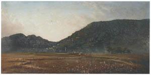 thumbnail Takahashi Yuichi – Distant View of Mt. Kotohira [from Takahashi Yuichi: Pioneer of Modern Western-style Painting]