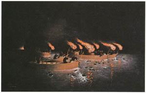 thumbnail Takahashi Yuichi – Cormorant Fishing [from Takahashi Yuichi: Pioneer of Modern Western-style Painting]