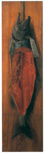 高橋由一 – 鮭図 [近代洋画の開拓者 高橋由一展より]のサムネイル画像