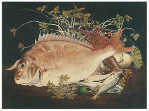 thumbnail Takahashi Yuichi – Sea Bream and Other Ocean Fish [from Takahashi Yuichi: Pioneer of Modern Western-style Painting]