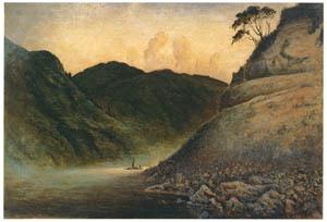 高橋由一 – 最上川舟行 [近代洋画の開拓者 高橋由一展より]のサムネイル画像