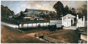 thumbnail Takahashi Yuichi – In Front of the Miyagi Prefectural Office [from Takahashi Yuichi: Pioneer of Modern Western-style Painting]
